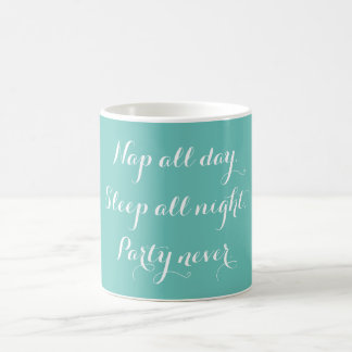 Ta sig en tupplur all dagkaffemugg kaffemugg