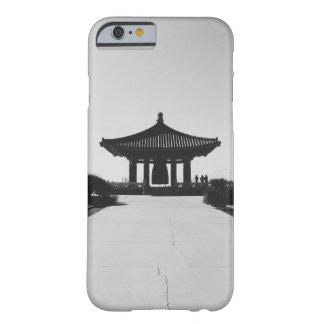 Ta tid på asiatisk byggnad barely there iPhone 6 skal