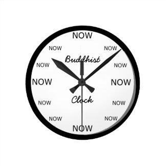 Ta tid på - buddisten tar tid på rund klocka