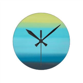 Ta tid på //den kalla vattenfärgen rund klocka