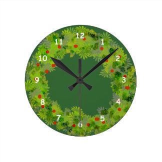 Ta tid på - julkranen rund klocka