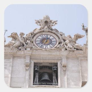 Ta tid på och sätta en klocka på, Vatican City, Fyrkantigt Klistermärke