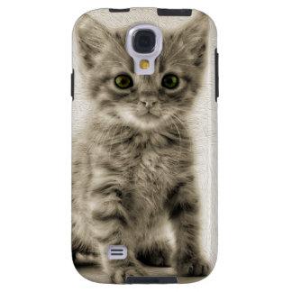 Tabbykattunge Galaxy S4 Fodral