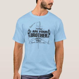 TABU MIG FÖRMIDDAG din broderHanes Nano T skjorta Tee Shirt