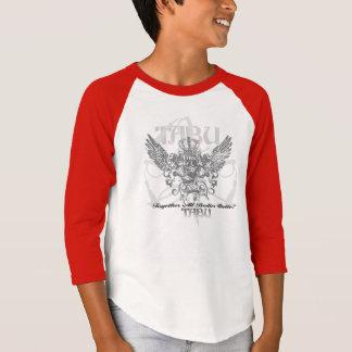 TABU påskyndar skjortan för ungdomamerikandräkt T Tröja