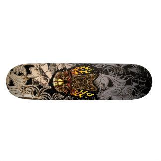 TabuTiki att surfa som är tropiskt, avfyrar guden Mini Skateboard Bräda 18,7 Cm