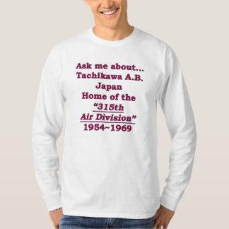 tachikawa flygbasjapan 315. ANNONS Tshirts