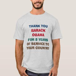 Tack Barack Obama för 8 år av tjänste- Tröjor