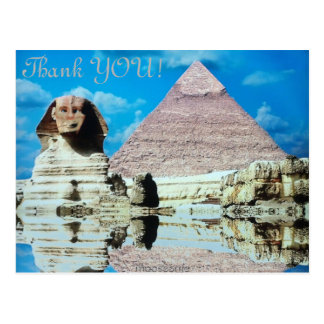 Tack! Egyptisk Sphinx… Vykort