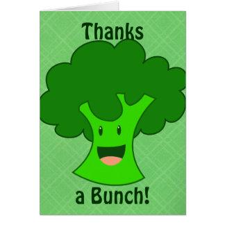Tack ett grupphälsningkort hälsningskort
