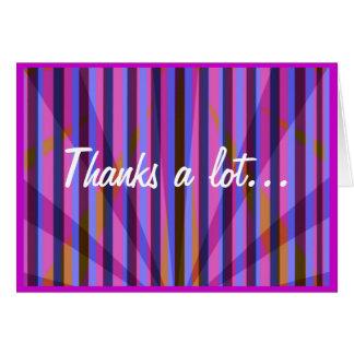 Tack ett lott… hälsningskort