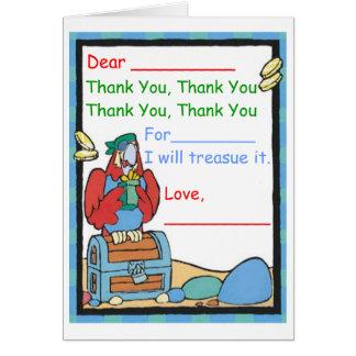Tack för (a-gåvan) hälsningskort