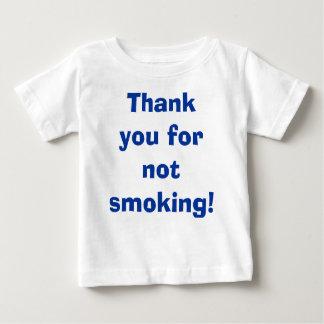 Tack för att inte röka tröjor