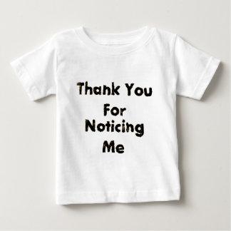 Tack för att märka mig t-shirt