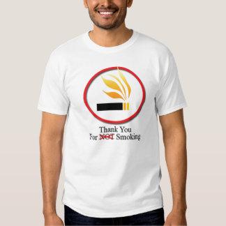Tack för att röka tröjor