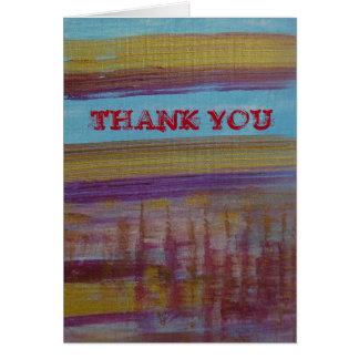 Tack: för att vara dig hälsningskort
