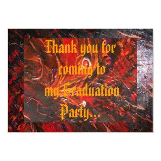 Tack för att vara speciellt 12,7 x 17,8 cm inbjudningskort