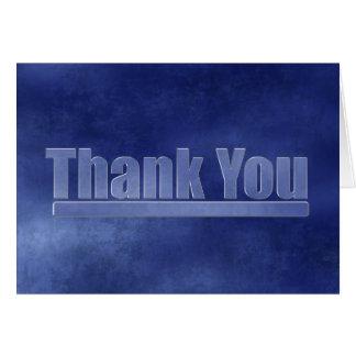 Tack för blåttGrungestudenten Hälsningskort