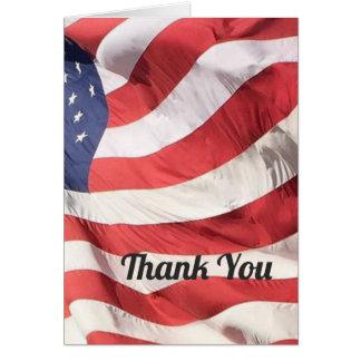Tack för ditt tjänste- hälsningkort hälsningskort