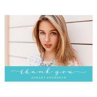 Tack för foto för klassikerturkosstudenten vykort