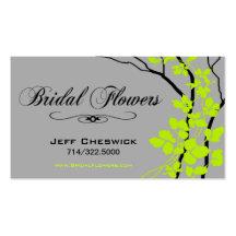 Tack för sakkunnig Bella brud- för blom- ordningar Visitkort Mall