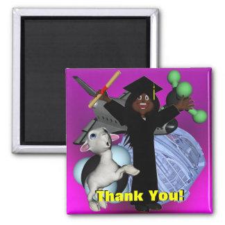 Tack för studentendag magnet