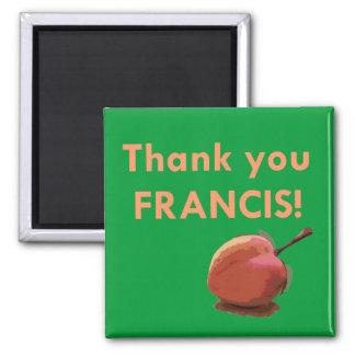 Tack Francis! Magnet