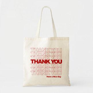 Tack! Ha en trevlig dag! Budget Tygkasse