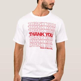 Tack hänger lös tshirts