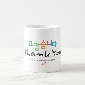 Tack (korean) kaffemugg