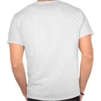 Tack men guden fick min baksida t shirts