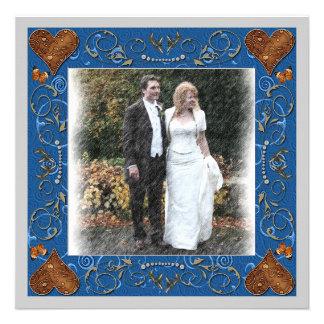 Tack som gifta sig fotoramen