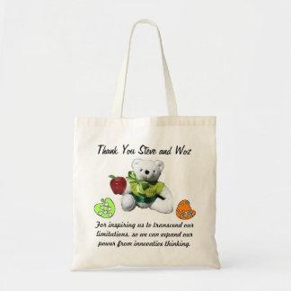 Tack Steve och Woz hänger lös Tote Bag