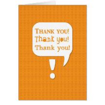 TACK tackar dig tackar dig! tack Hälsnings Kort