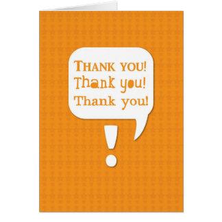 TACK tackar dig tackar dig! tack Hälsningskort