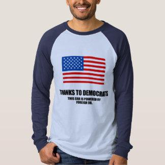Tack till demokrater tröjor