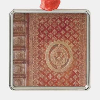 Täcka av arbetena av Tacitus med laget Julgransprydnad Metall