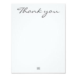 Tacka dig att card 10,8 x 14 cm inbjudningskort