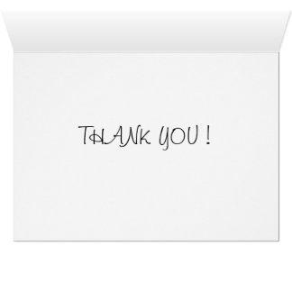 Tacka dig att card hälsningskort