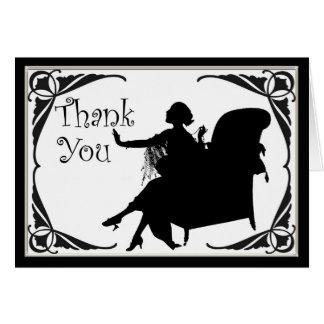 Tacka dig att card ideal för bröllop eller precis kort