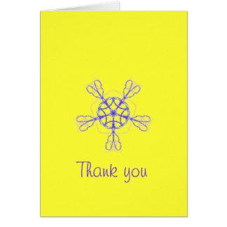 Tacka dig att card hälsnings kort
