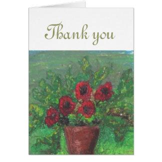 Tacka dig att card kort