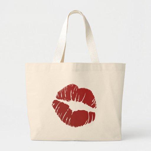 Tacka dig att kyssa tygkasse