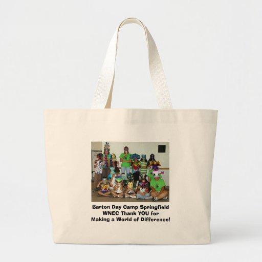 Tacka dig det Springfield daglägret Tote Bag