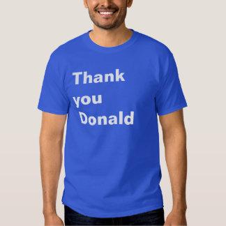 Tacka dig Donald Tshirts