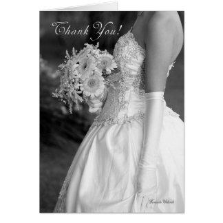 Tacka dig för danande vår så speciella bröllopsdag hälsningskort