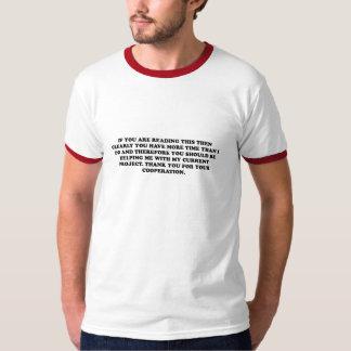 Tacka dig för ditt samarbete t-shirts