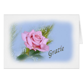Tacka dig, Grazie, italienare Hälsningskort