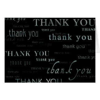 tacka dig: hälsningskort