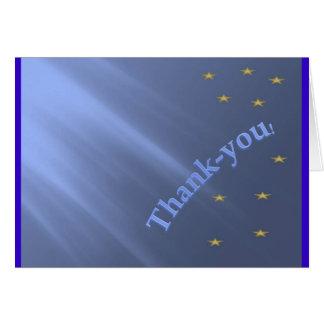 Tacka-dig Hälsningskort